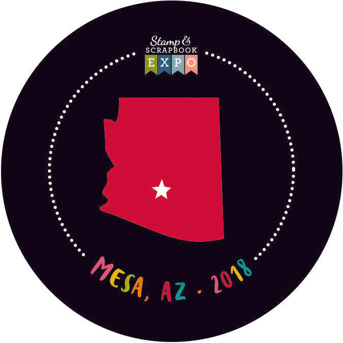 "Collectible 2"" - Mesa, Arizona Button"
