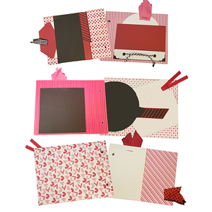 Mega Make & Take @home Kit for November 15th - Mini Albums