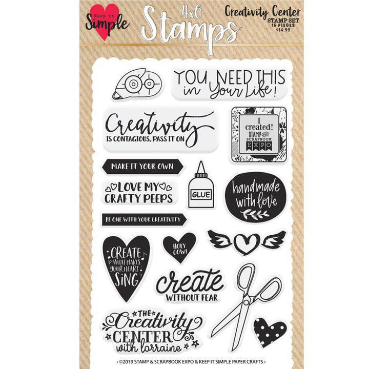 Creativity Center Stamp Set