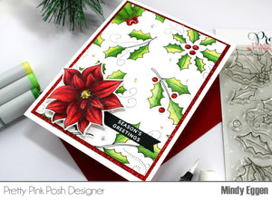 Slimline Card Swap - 20 Slimline Cards - Pretty Pink Posh - Christmas Stamps