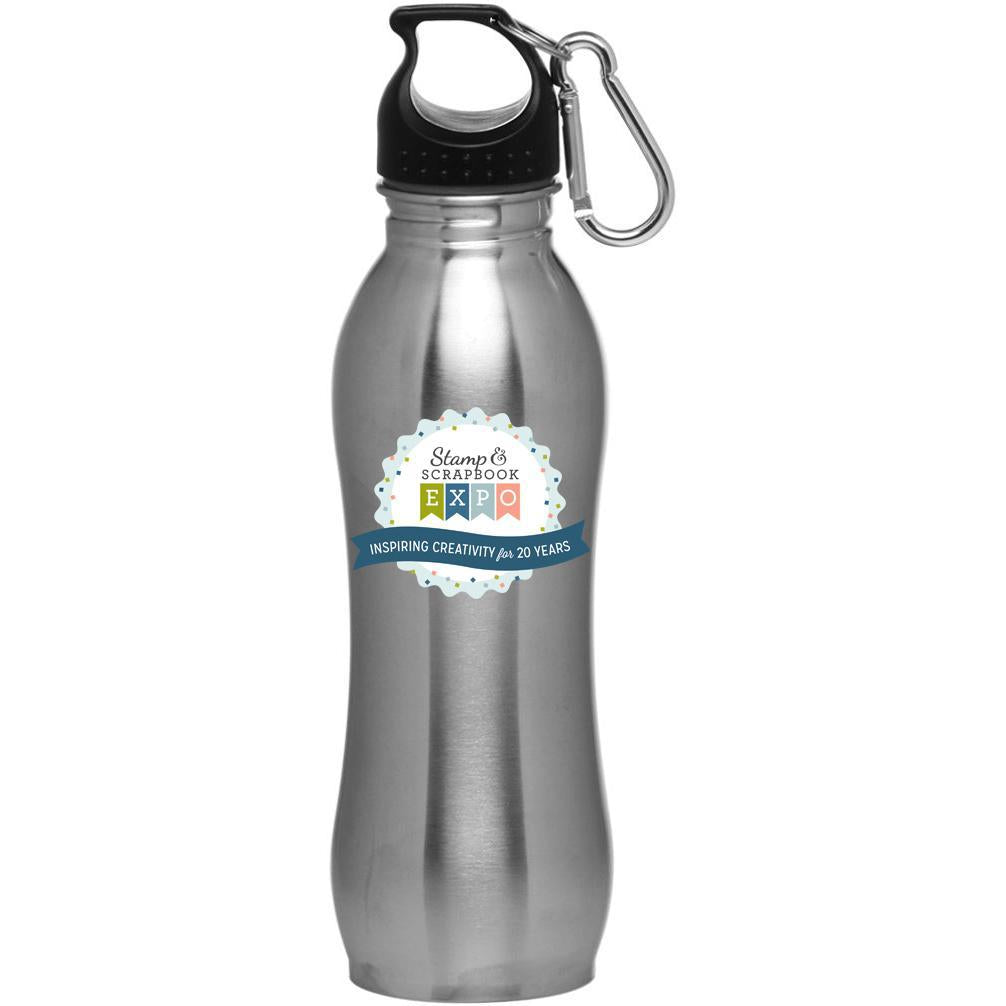 Stamp & Scrapbook Expo Water Bottle