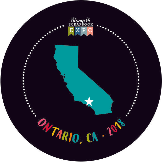 "Collectible 2"" - Ontario, California Button"