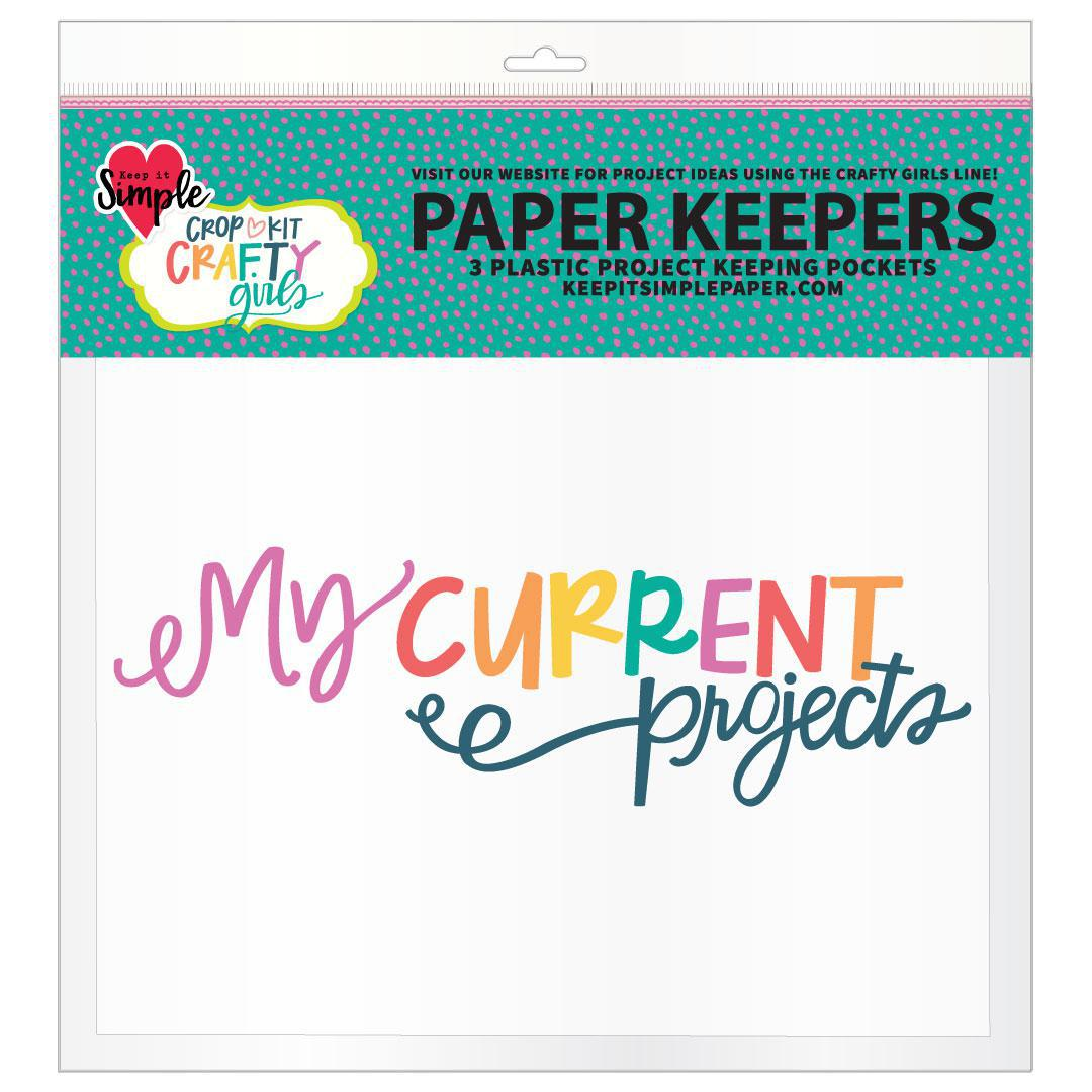 Crafty Girl Full Size Paper Keepers - 3 Pack