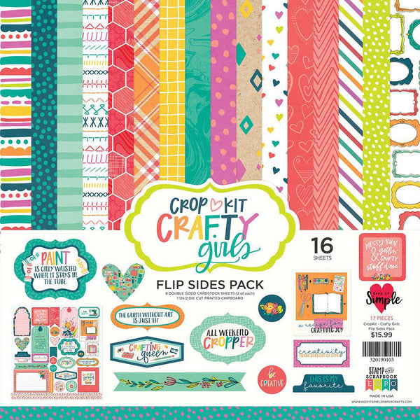 Crafty Girl Flip Side Collection Pack