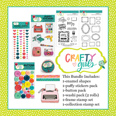 Crafty Girls Embellishment & Stamp Bundle