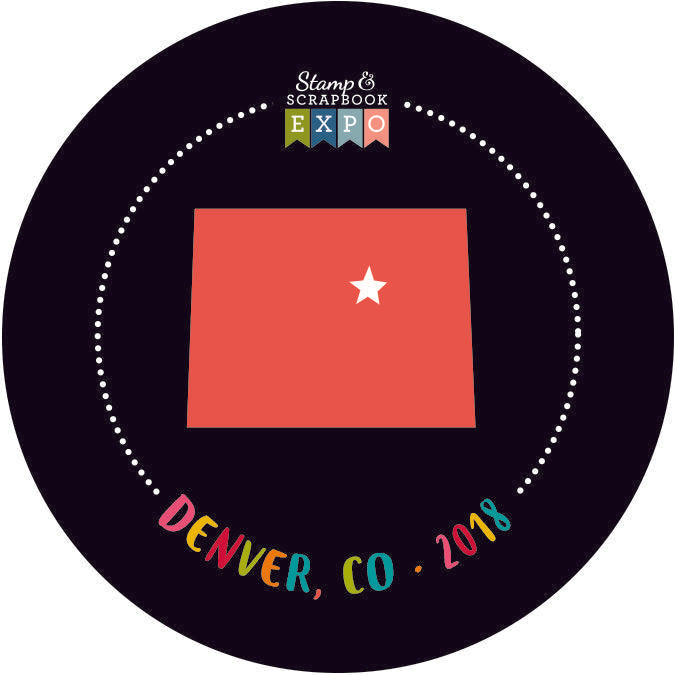 "Collectible 2"" - Denver, Colorado Button"