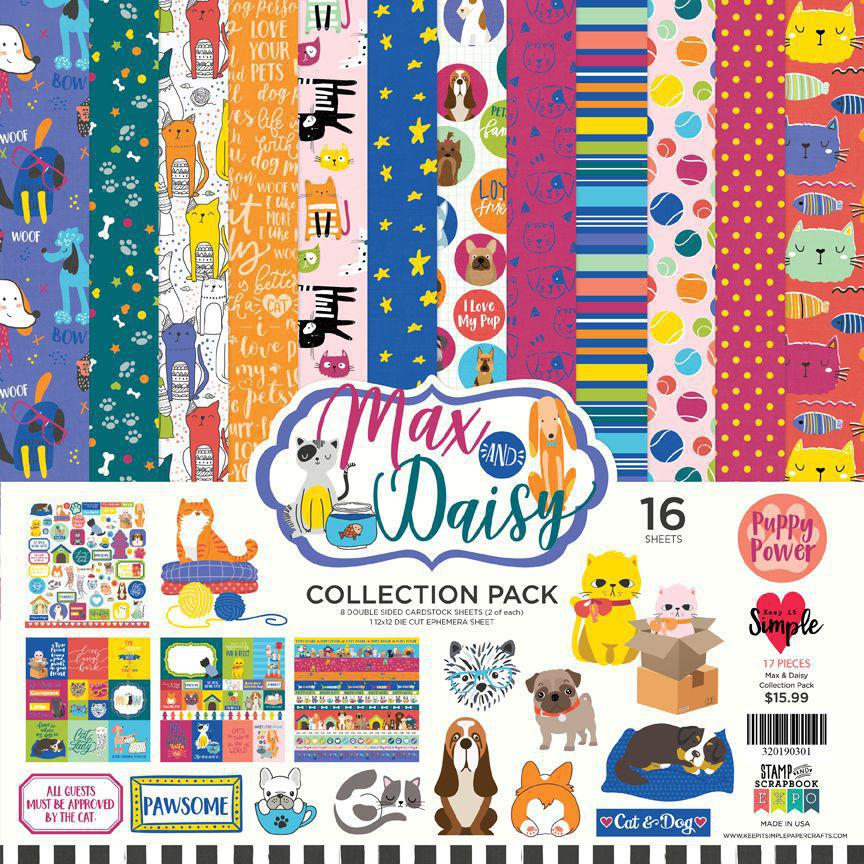 Max & Daisy Collection Pack