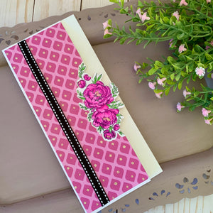 BEE Creative Gemini Peony Slimline Project Kit