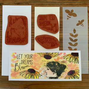 Blank Page Muse - Let Your Dreams Blossom Spring Slimline 3.21 Project Kit