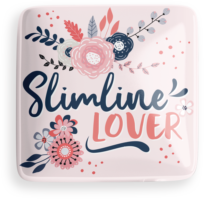 Slimline Lover Button