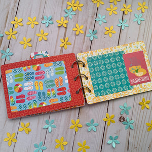 Cute and Quick Scrapbooking Camera Mini Book Project Kit