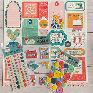 Mega Add On Kit for Jan 17th - Keep It Simple Paper Crafts - Crafty Friends Mini Album