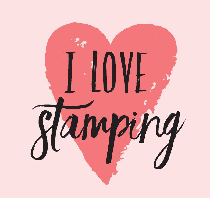"Crop Registration ""I Love Stamping"" Button- April 10th"