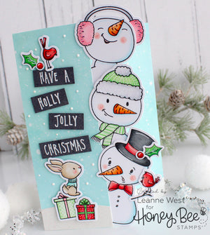 6x6 Layout Swap - Honey Bee Stamps - Snow Buddies Kit