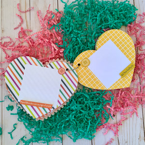 Keep It Simple Paper Crafts Heart Mini Album Project Kit