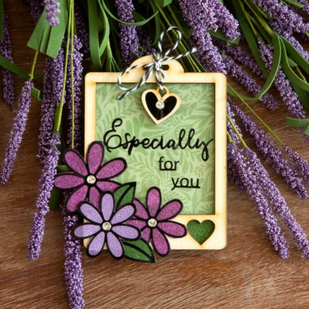 Krazy Kreations Flower Tags Project Kit
