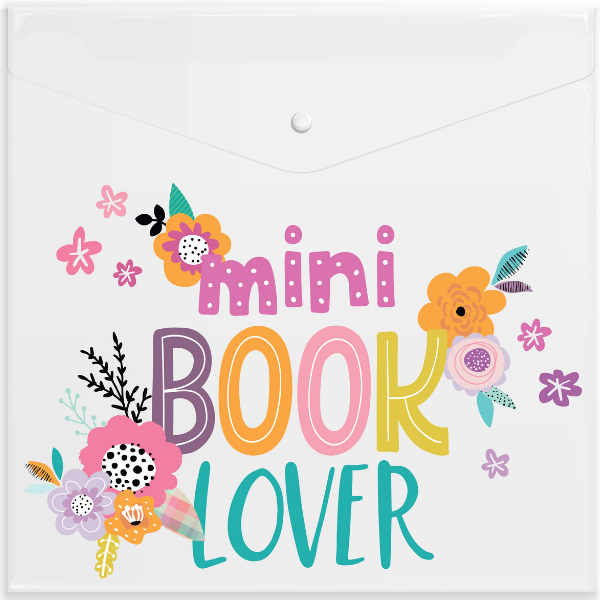 Mini Book Lover Full Size Paper Keeper