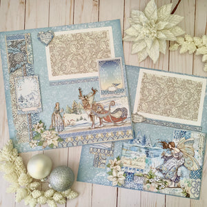 Miniature Luxuries & Papers Scrapbook Layout Project Kit