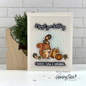 Card Swap - 30 Cards - Honey Bee Stamps - Nuts About You Kit