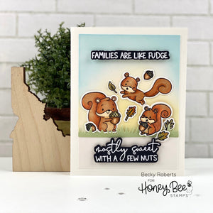 Card Swap - 20 Cards - Honey Bee Stamps - Nuts About You Kit
