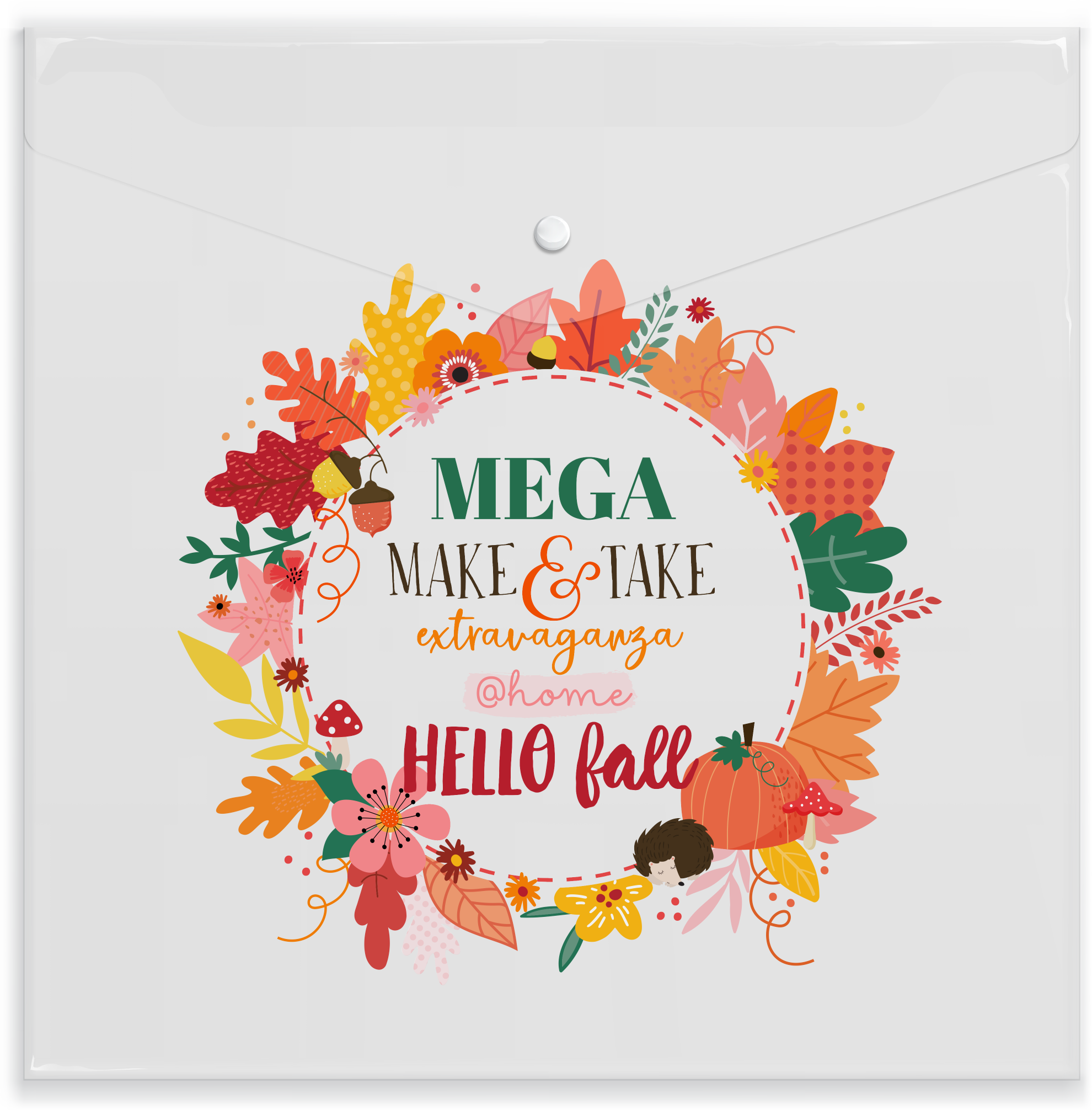 *EXTRA* Hello Fall Paper Keeper
