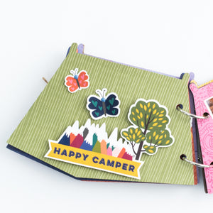 Keep It Simple Tent Mini Album Project Kit