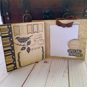"Pinecone Press 6"" x 8"" Side Tie Album Project Kit"