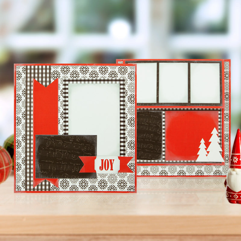 Quick Quotes Scrapbooking Company Holiday Scrapbook Layout Project Kit
