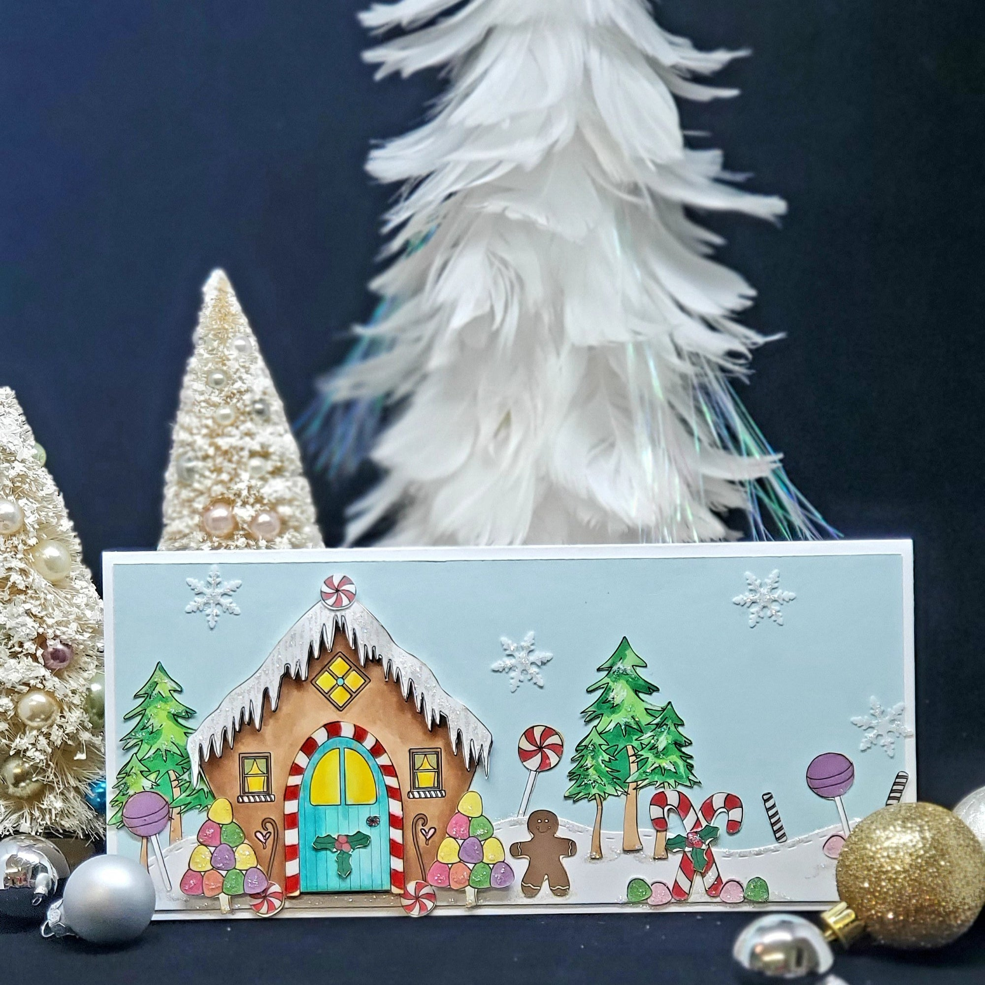 Riley & Co Gingerbread Slimline Project Kit