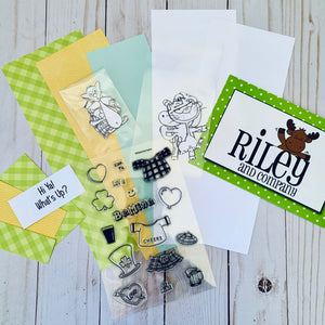 Riley & Co. Slimline & Stamp Set Project Kit