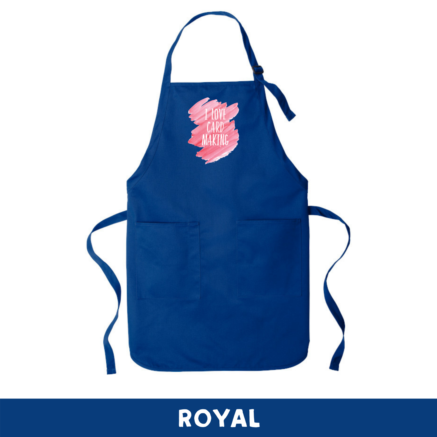 Royal - Apron - I Love Cardmaking