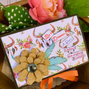 Scrapbook Workshoppe Party Favor Candy Box Project Kit