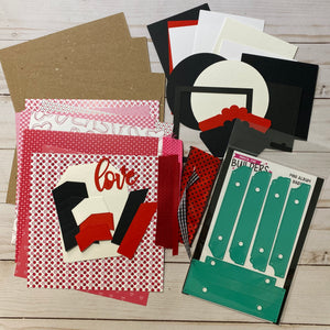 Stamp Anniething Love Mini Album Project Kit