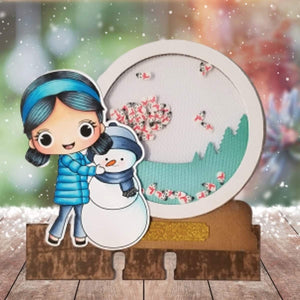 Stamp AnnieThing Winter Memorydex Project Kit