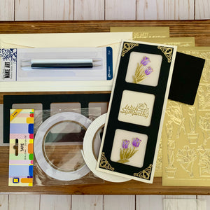 Mega Make & Take @home Kit for March 21st - Spring Slimline