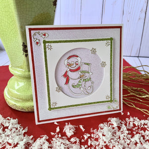 Stamp On It Snowman Card Project Kit