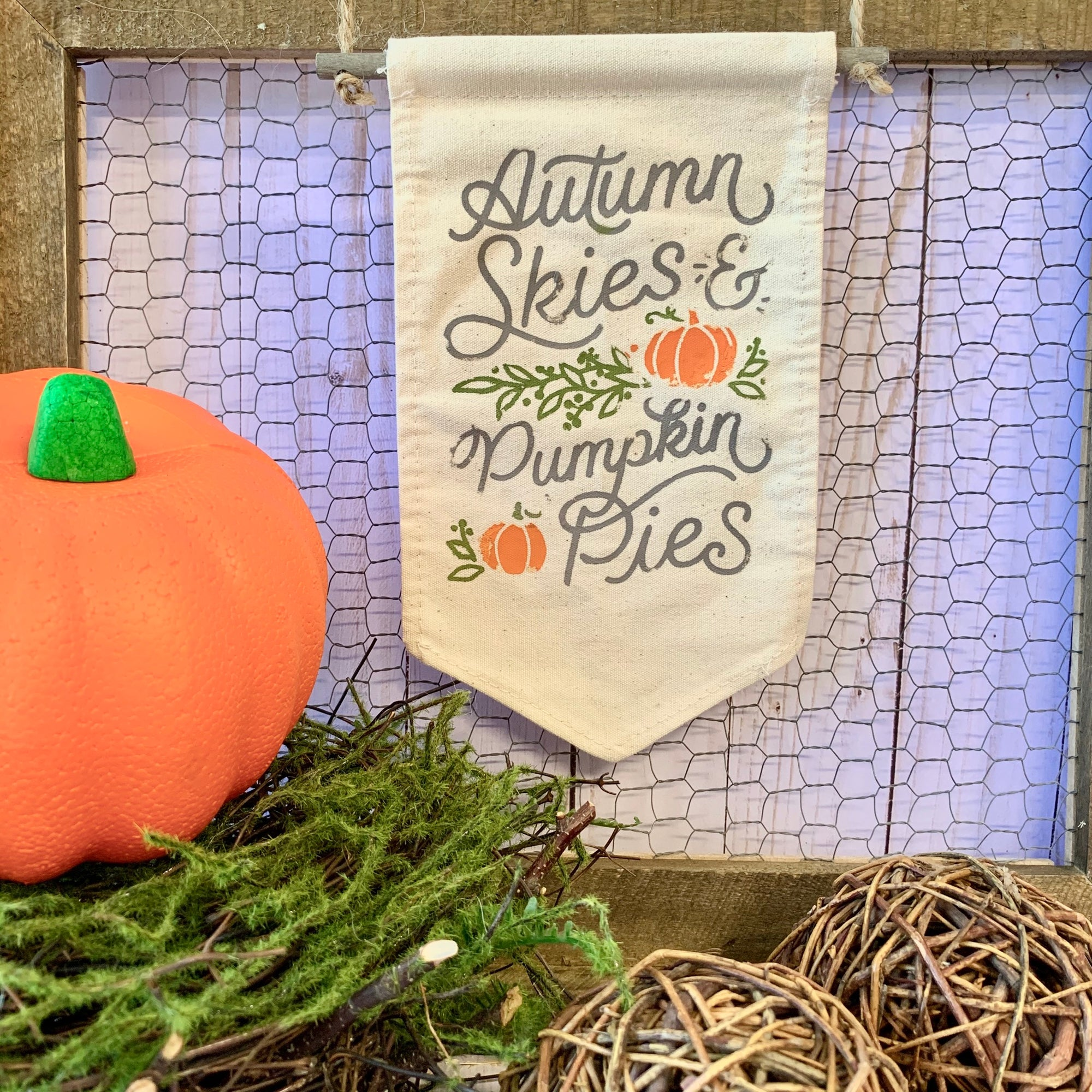 Chalk Couture Fall Flag Project Kit
