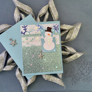 Stampin Up! Snowman w/ Shirley Merker Project Kit