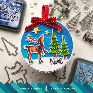 6x6 Layout Swap - Trinity Stamps - Joyeux Noel Slimline Kit