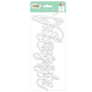 Namaste Home Chipboard Words
