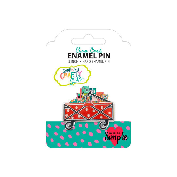 Crafty Girls Enamel Pins – Crop Cart