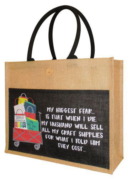 Jute Bag - Crop Cart