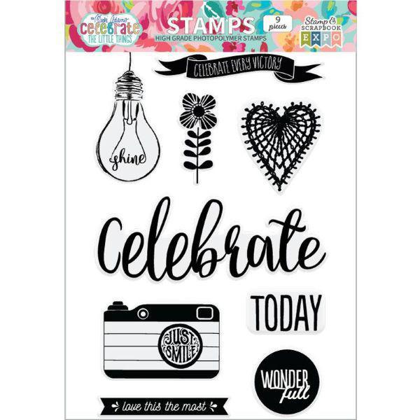 Celebrate The Little Things Stamp