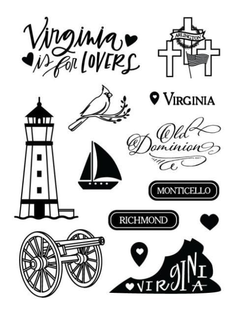 Virginia Stamp Wandering Planners