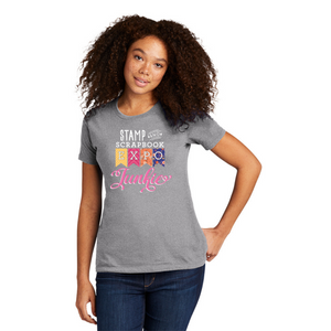 Heather Grey - Crew Neck Boyfriend Tee - SSBE Junkie