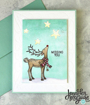 Card Swap - 20 Cards - Trinity Stamps - Joyeux Noel Slimline Kit