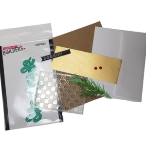 Stamp AnnieThing Greetings Christmas Card Project Kit