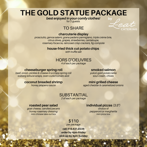 The Gold Statue Package