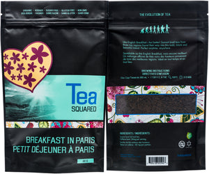 Tea squared 'Breakfast in Paris' loose leaf tea