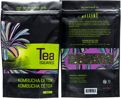 Tea squared 'Kombucha Detox' loose leaf tea